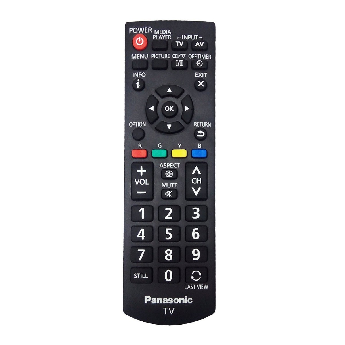 New OEM Replacement Panasonic Plasma TV Remote Control