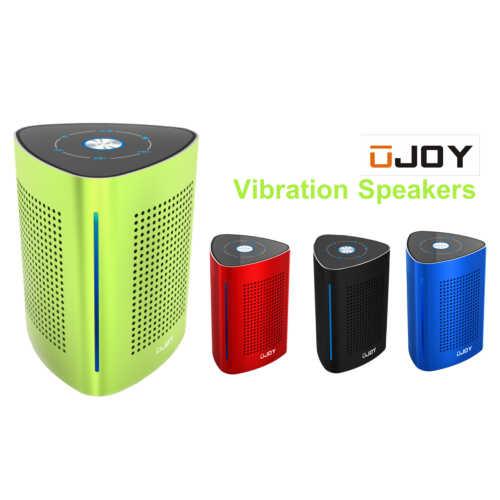 UJOY Bluetooth Portable Vibration Speakers--Green